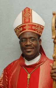 Bishop Gabriel Malzaire, AEC liaison to the Catholic Students' Movement in the Caribbean.